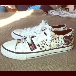 Kitson Rainbow star sneakers